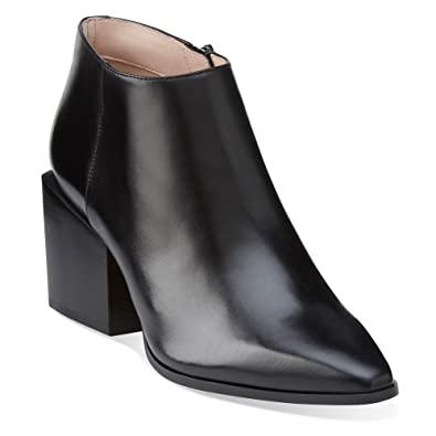 Clarks Women's Amaline Art Black Leather ...