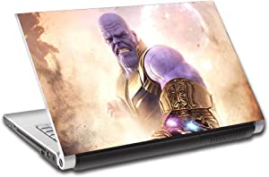 """Thanos Avengers Infinity War Personalized LAPTOP Skin Cover Decal Sticker L770, 15.6"""""""
