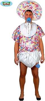 NET TOYS Bebé Gigante Disfraz Adulto - L (ES 52/54) | Disfraz ...