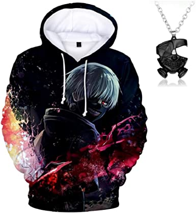 tokyo ghoul Ken Kaneki Cos Anime Kapuzen Sweatshirt Hoodie pullover Kapuzenpulli