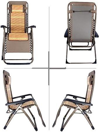 MJK Chaises pliantes, chaise longue d'extérieur Zero Gravity