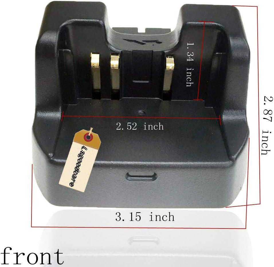 Lsgoodcare Two Way Radio Battery Charging Dock Desktop Rapid Charger Compatible for Yaesu Vertex-Standard XA-150 VX-188 VX-800 FT-270R VXA-300 Lite