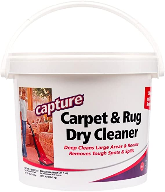 Capture Carpet Dry Cleaner Powder