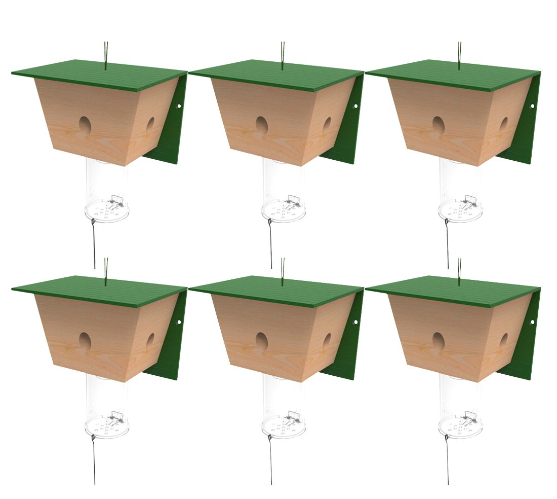 Best Bee Trap - 6 Pack Carpenter Bee Traps
