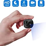 Hidden Camera,Mini Spy Camera-1080P HD with Night Vision and Motion Detection,