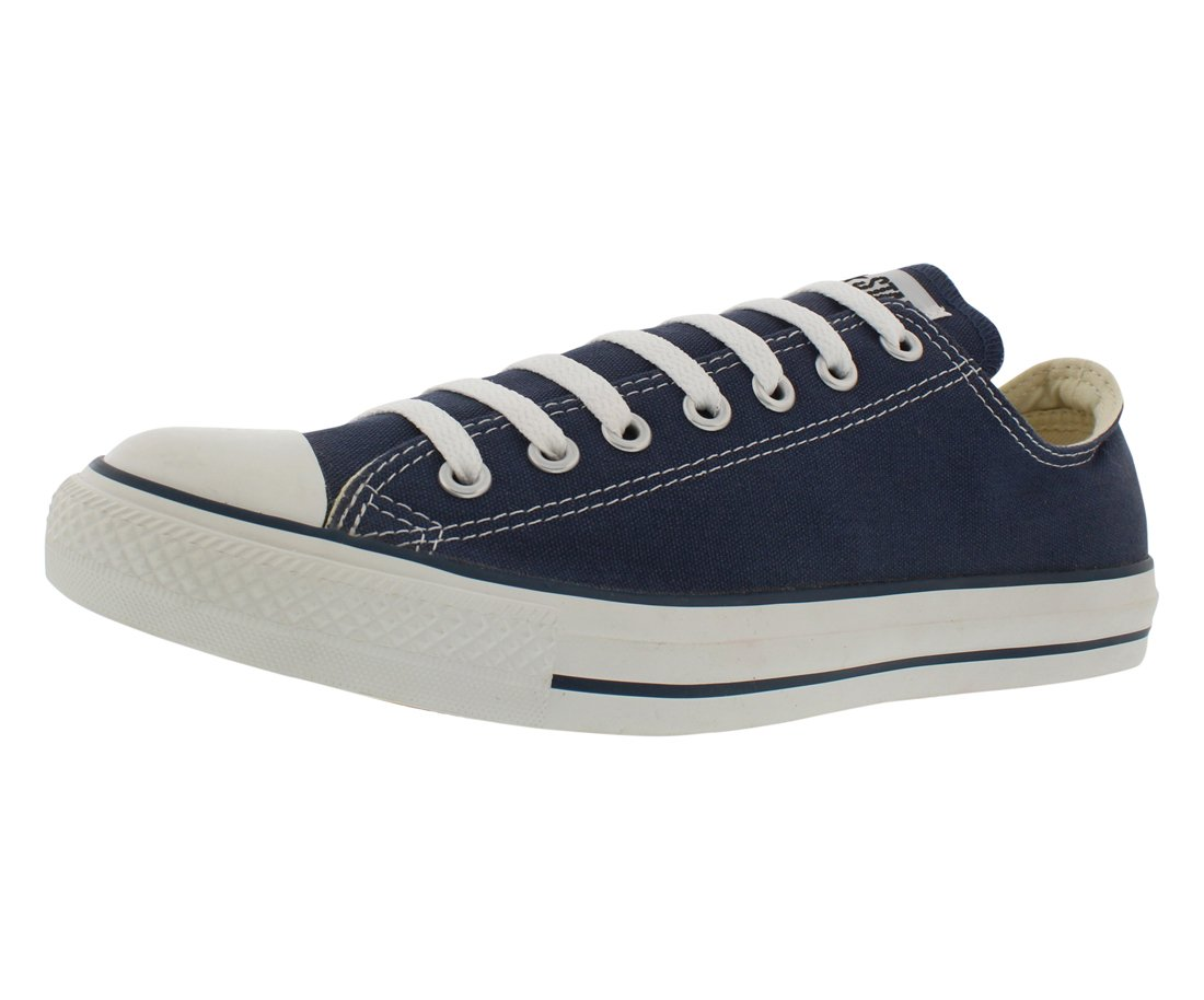 Converse Unisex Chuck Taylor All Star Low Top Navy Sneakers - 6 D(M)