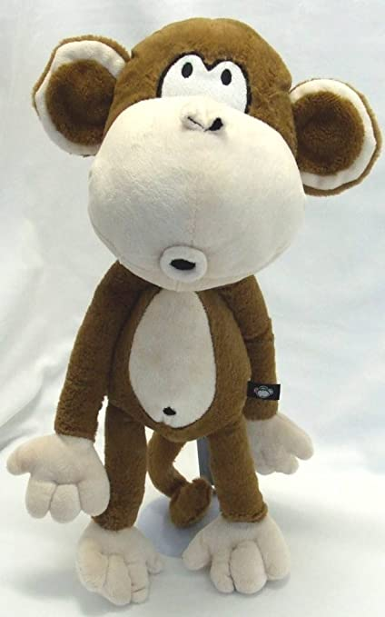 Amazon Com Bobby Jack Brown Monkey 17 Plush Toys Games