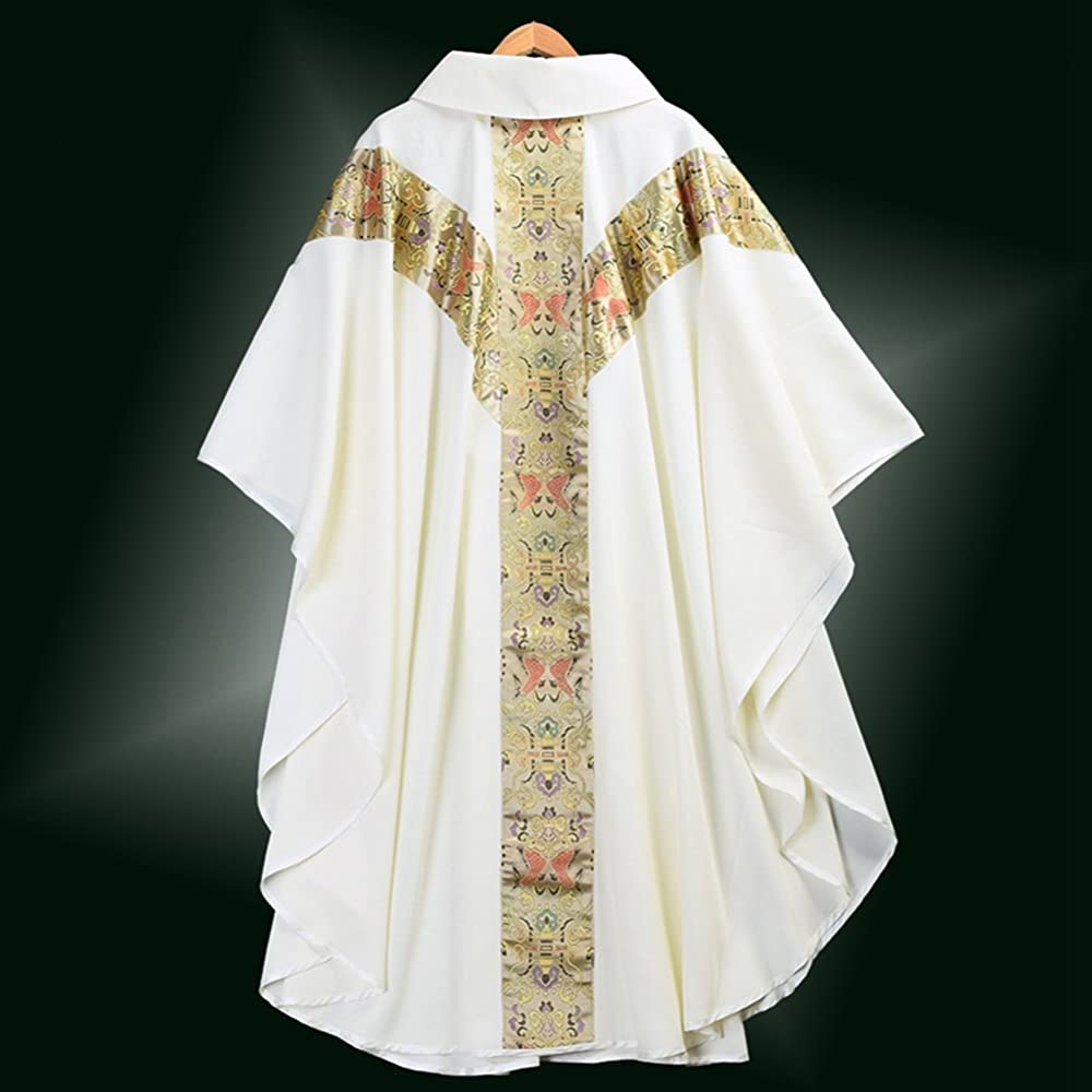 BESSUME Sacerdote Celebrante Casulla católico Iglesia Padre Masa ...