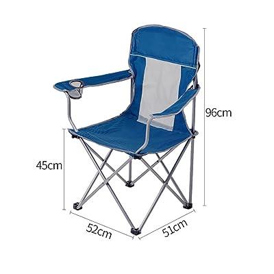 Chaise de plage Déjeuner Pause Inclinables Bureau Chaise De Loisirs En Plein Air Pliante Chaise De Pêche Portable Croquis