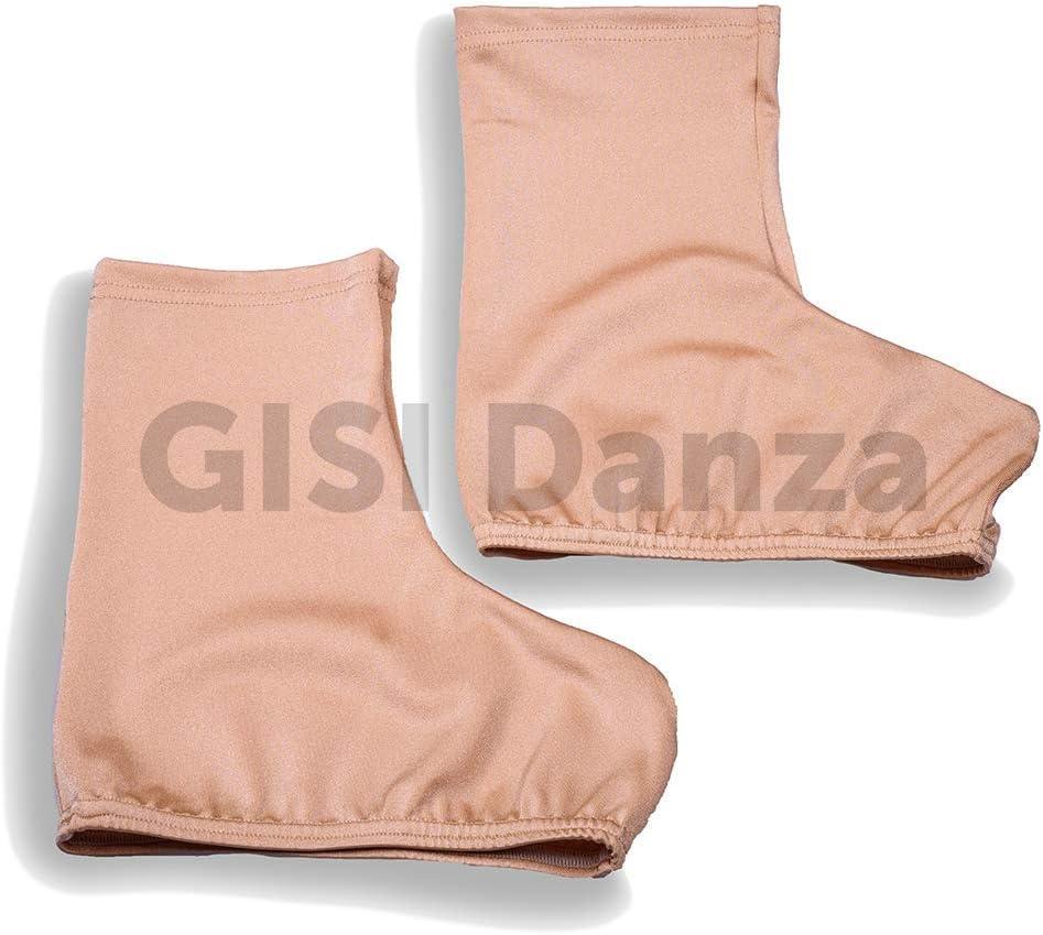 GISI Danza Copripattini in Lycra per Pattinaggio Varie Taglie 100/% Made in Italy