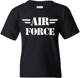 Air Force Youth T-Shirt Military Veteran POW MIA Air Force Mom Kids Tee