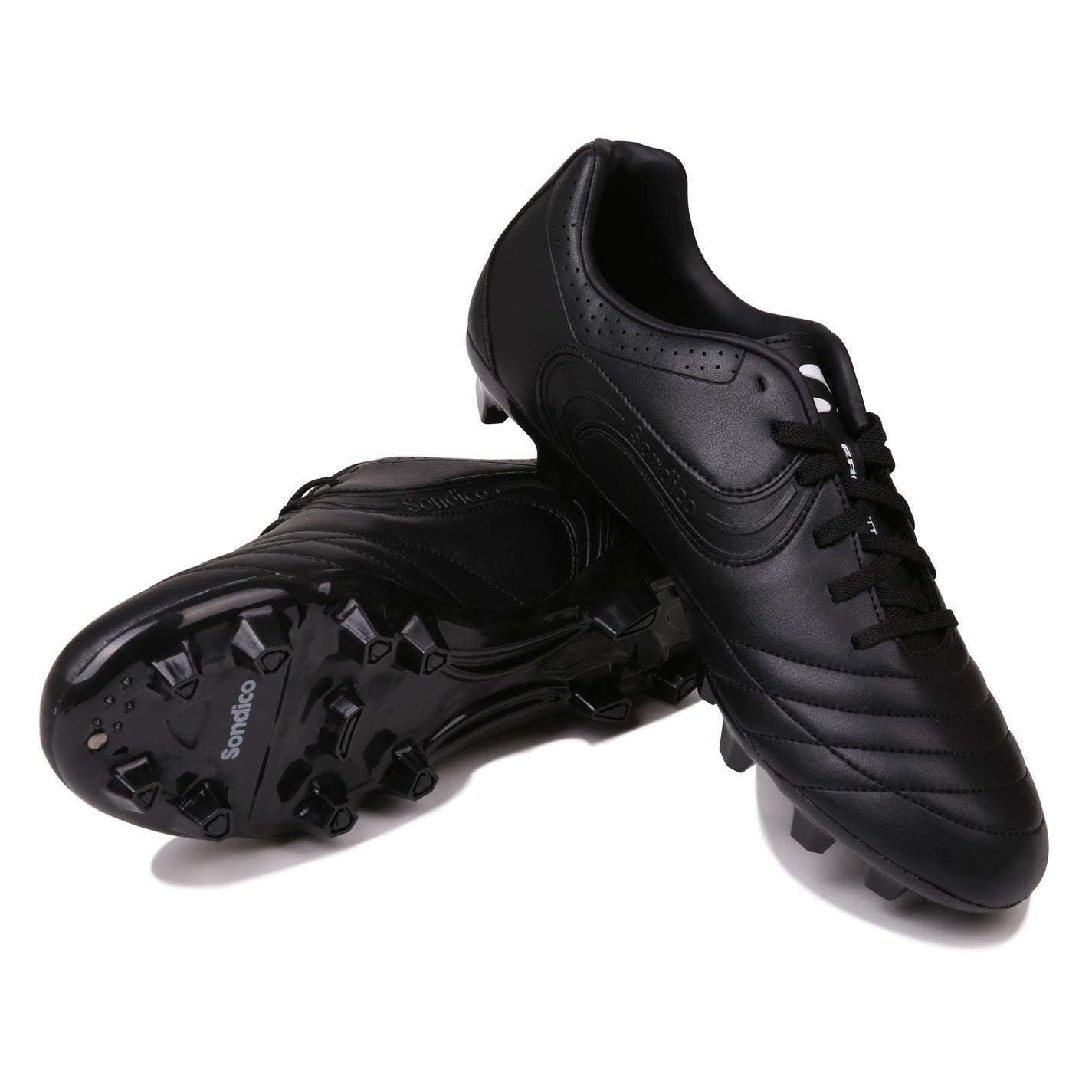 Official Sondico Strike II FG Firm Ground Football Boots Mens Black Soccer  Shoes Cleats  Amazon.co.uk  Shoes   Bags afd1cf6eb2e