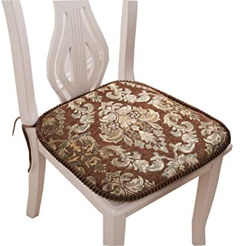 Amazon Embroidery Kitchen Chair Pads And Cushions