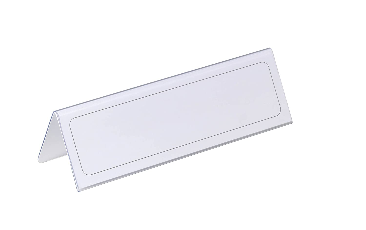 Durable 805219 61//122 x 210 mm Table Place Name Holders