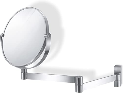 Zack 40109 Fresco Wall Mirror, Extends Up to 12.60-Inch