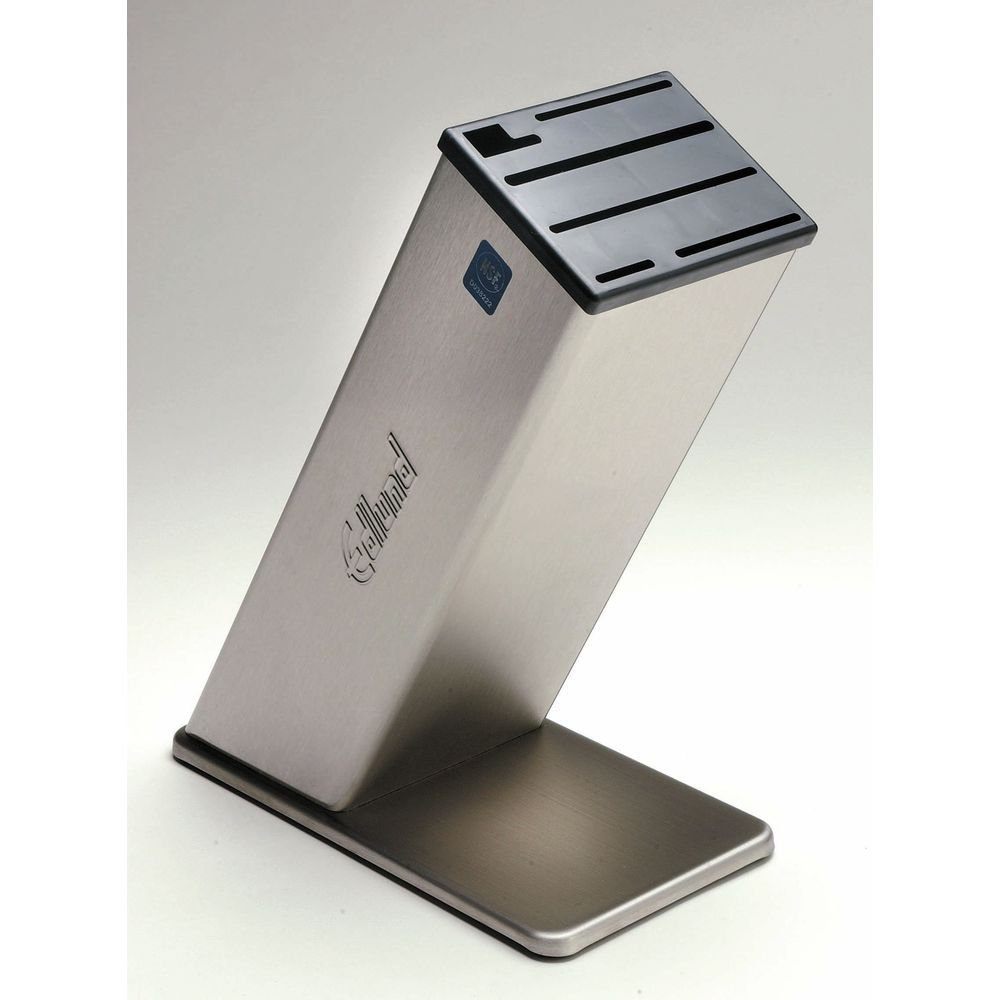 Dexter Stainless Steel Knife Block - 12''H