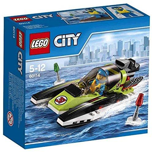 LEGO City 60114 - Le Bateau De Course