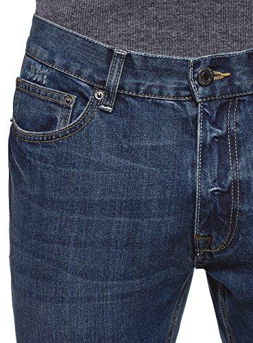 7500w Uomo A Ultra Vita Blu Jeans Oodji Media Basic Z7w58