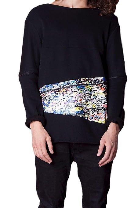 Zamp by Zampolini Herren Jumper Sweatshirt schwarz schwarz L: Amazon.de:  Bekleidung