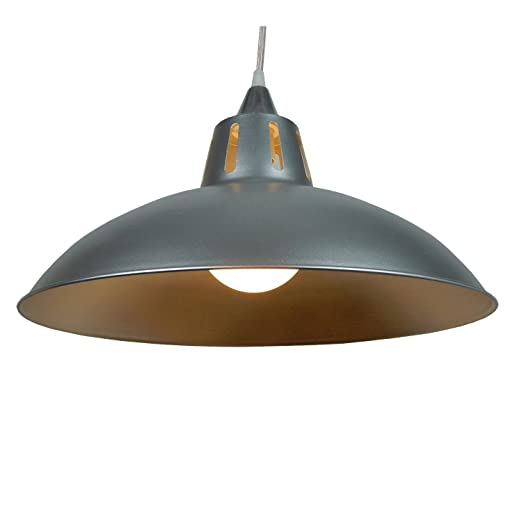 16 battersea retro metal cafe diner ceiling lampshade pendant light 16quot battersea retro metal cafe diner ceiling lampshade pendant light shade aluminium aloadofball Image collections