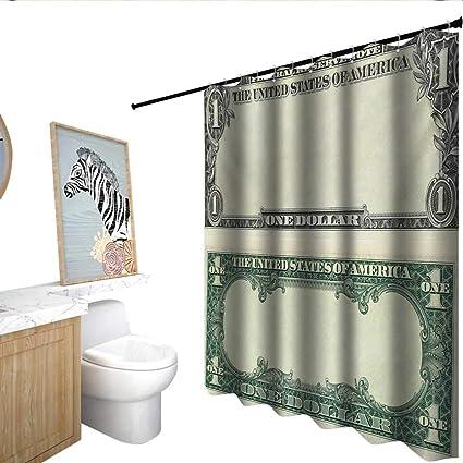 Amazon Money Home Decor Shower Curtain One Dollar Bill Buck