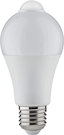 Led Agl Pir Sensor 6 5w E27 2700k Paulmann 284 72 Amazon De Beleuchtung