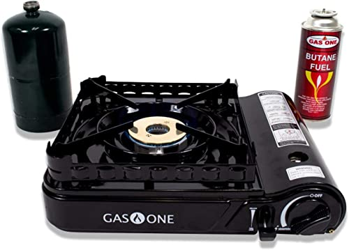 Gas ONE GS-3900P New Dual Fuel Propane or Butane Portable Stove
