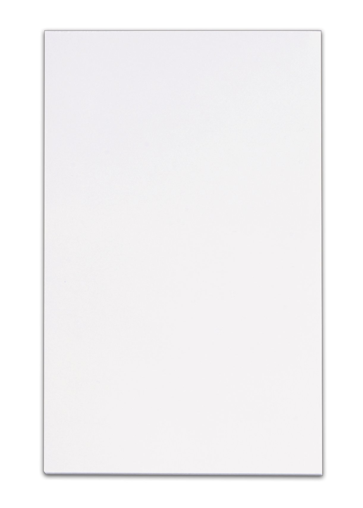 Pendaflex TOP7822 TOPS Memo Pad, 5 x 8 Inches, Plain, 100 sheets per Pad, White, Pack of 12 Pads (7822)