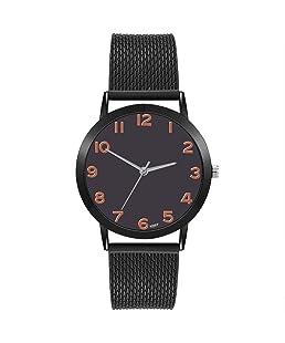 Lolamber Armbanduhr für Damen Herren Slim Uhr Armband Frauen Edelstahl Geschäfts Klassisch Analog Quarz Dünn Armbanduhr mädchen Luxus Elegant Silber Uhr mit Weiß Zifferblat