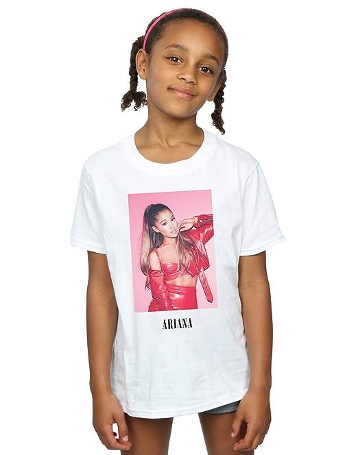 f4488630 Ariana Grande Niñas Red Jacket Camiseta: Amazon.es: Ropa y accesorios