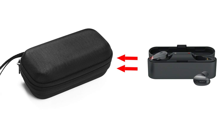 GH GHawk® Sennheiser HD 4.40 BT Estuche para Auriculares Estuche rígido de Viaje Bolsa de Transporte Protectora Caja de Auriculares Auricular Estuche ...