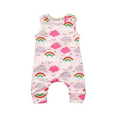 358611f96 Amazon.com  DIGOOD Toddler Infant Baby Girls Boys Rainbow Clouds ...
