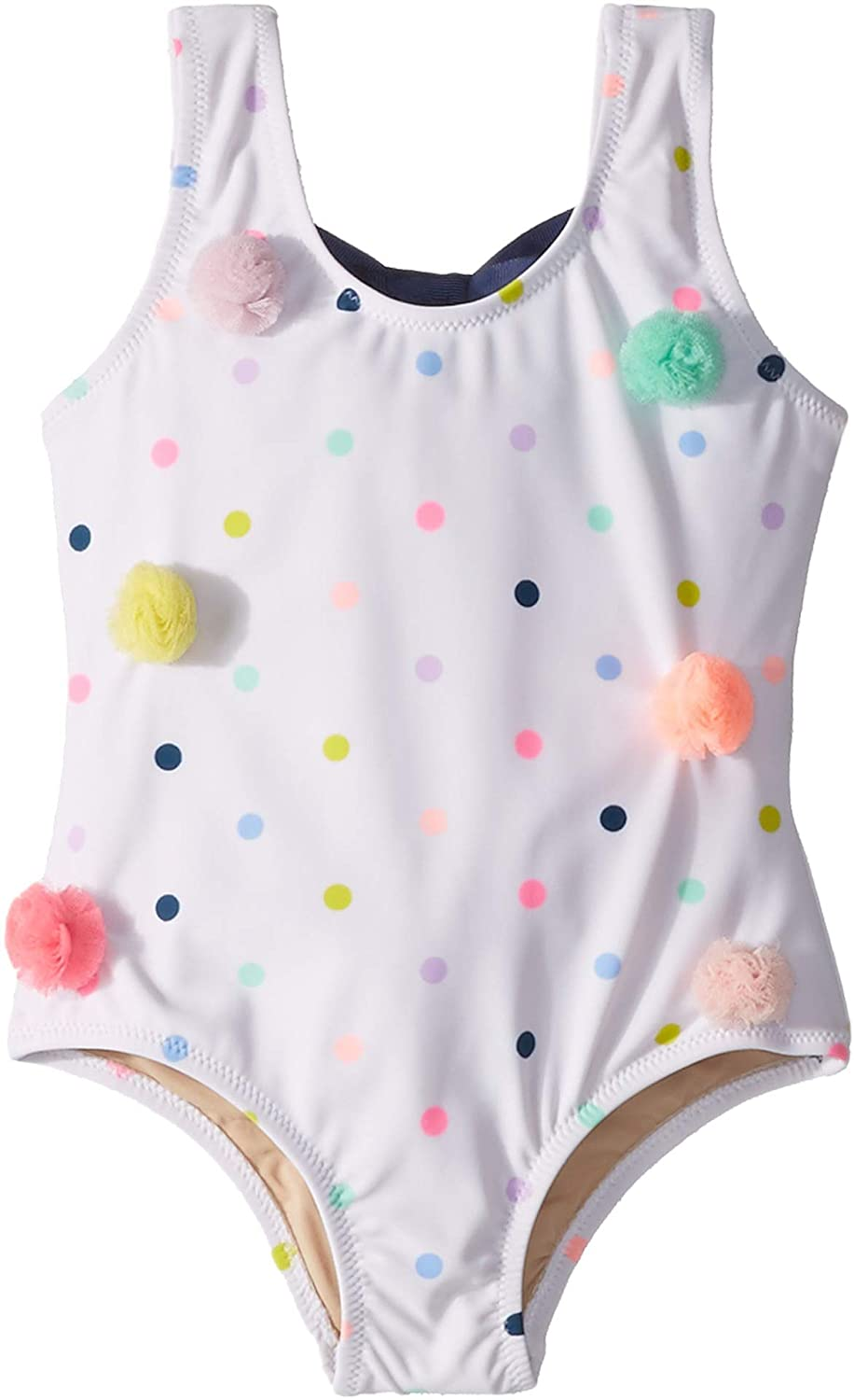 Infant//Toddler Shade Critters Womens Pom-Pom Dot One-Piece