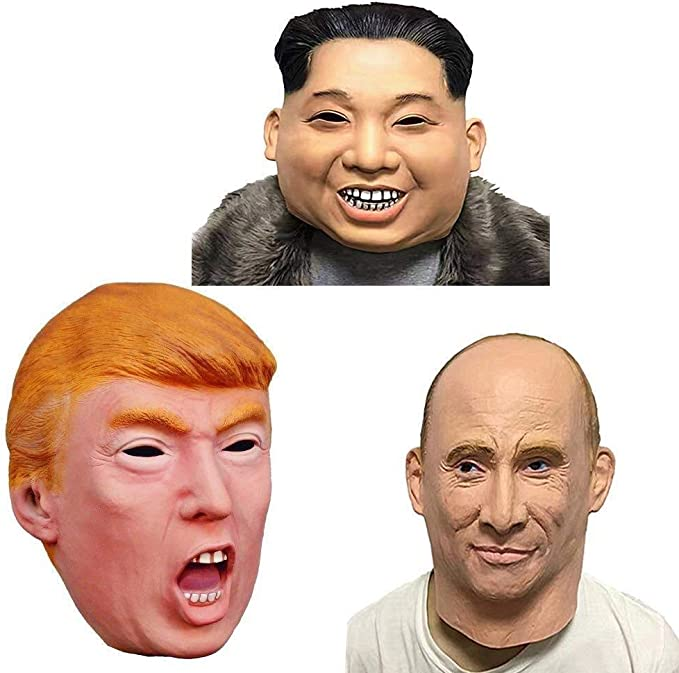 Máscaras de Disfraces Presidente Candidato Sr. Trump Presidente ...