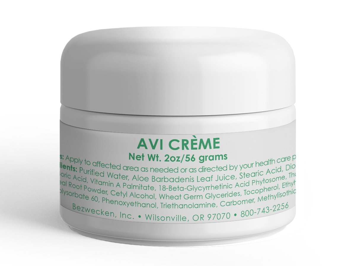 Bezwecken - AVI Crème - 2oz Crème | Professionally Formulated Vaginal Yeast Infection Support | Safe, Natural, Paraben Free | 30 Day Supply