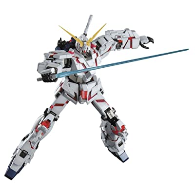 Bandai Hobby RX-0 Unicorn Gundam OVA Version 1/100-Master Grade: Toys & Games
