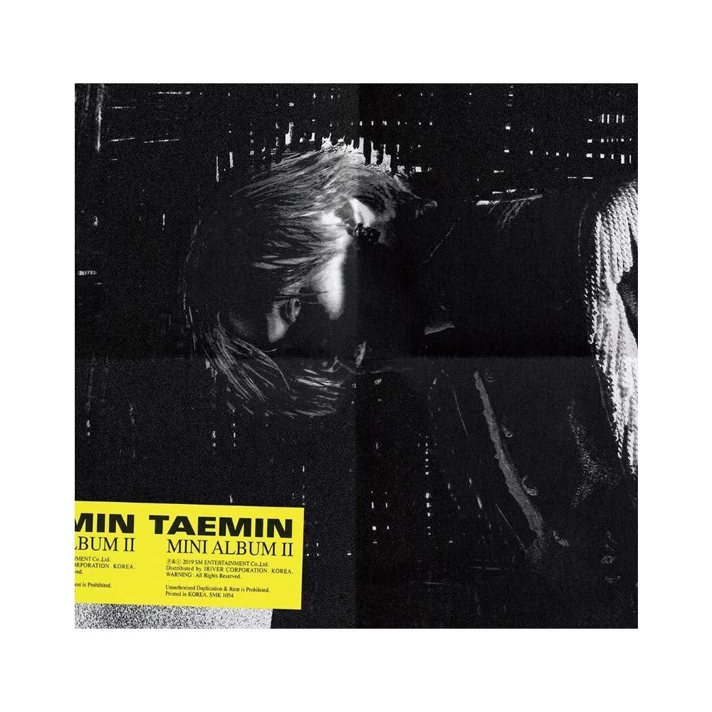 TAEMIN 2nd Mini Album - Want [Random ver.] CD + Folded Poster + photobook+photocard +Paper Toy