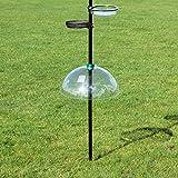 Universal Squirrel Baffle Bird Feeder Clear Plastic Dome Guard