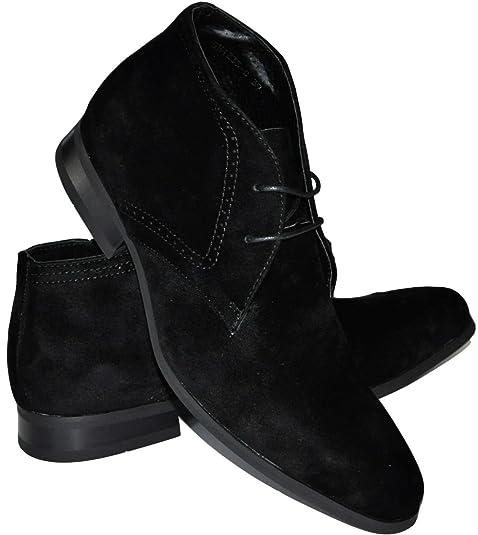Galax Botas Chelsea, botines hombre forro piel, Negro (noir1235c), 43: Amazon.es: Zapatos y complementos