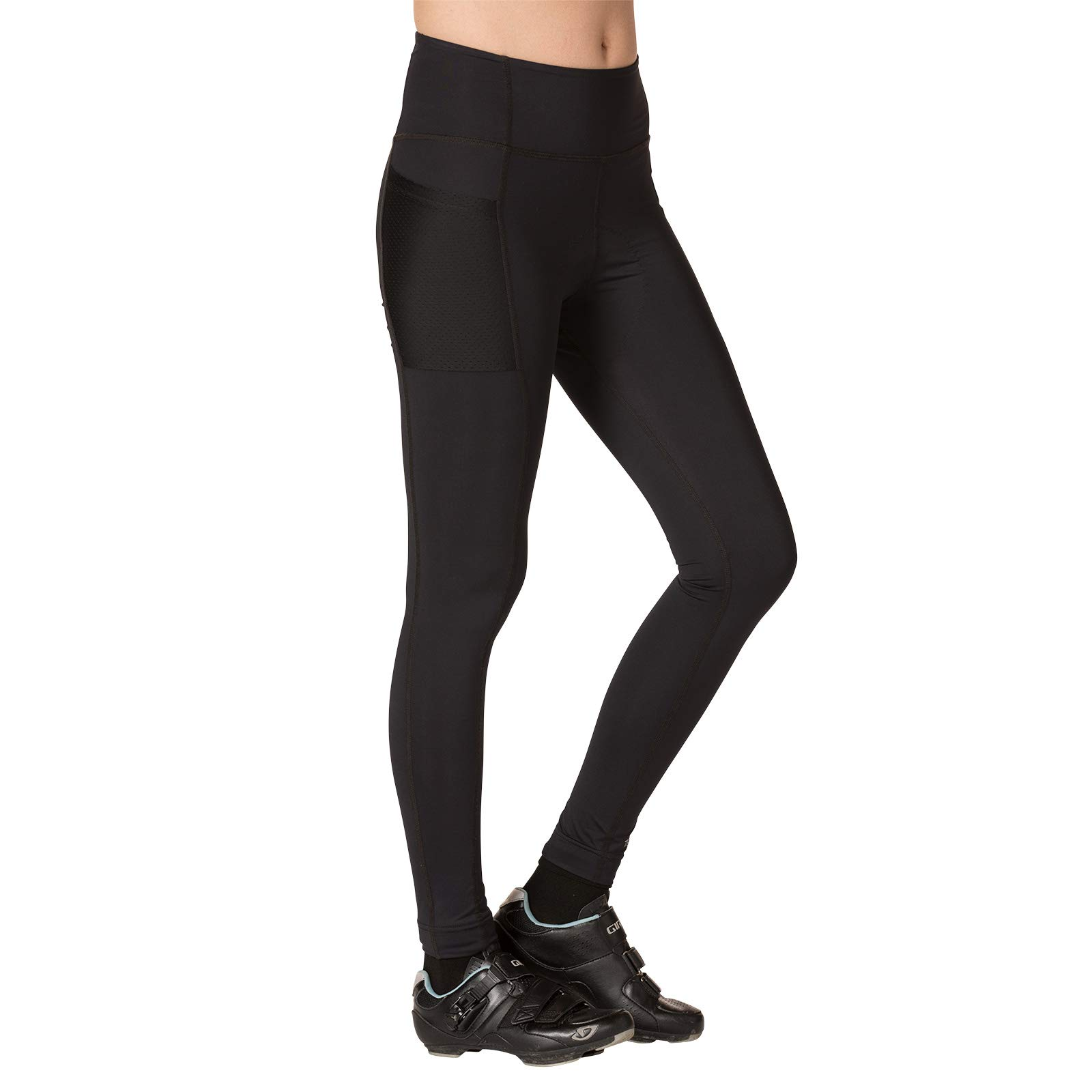Terry Women's Holster Prima Cycling Tight - A Higher Compression, Full Length Option for Cooler Temperatures – Black – Large by Terry (Image #2)