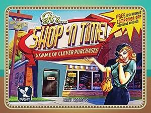 Mercury Games Shop N Time Board Game
