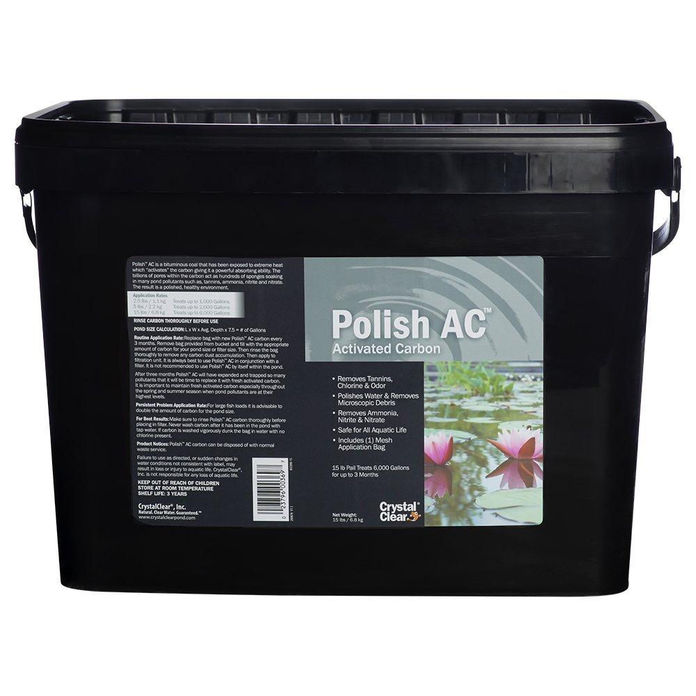 CrystalClear Polish AC, Activated Carbon, 15 lbs