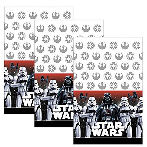 American Greetings Star Wars Plastic Table Cover (Pack of 3)]()
