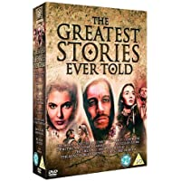 The Greatest Stories Ever Told 8 Movies Collection - The Agony and the Ectasy + The Bible + The Robe + Demetrius & the Gladiators + Francis of Assisi + The Greatest Story Ever Told + The Song of Bernadette + The Story of Ruth (8-Disc Box Set) (BBFC Rating: PG) (Fully Packaged Import) (Region 2)
