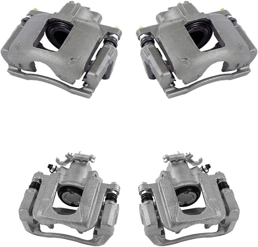 FRONT Premium Grade OE Semi-Loaded Caliper Assembly Pair Set CCK01523 2