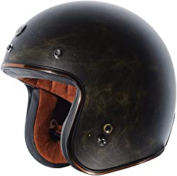 TORC Unisex-Adult - Vintage Open Face Motorcycle Helmet