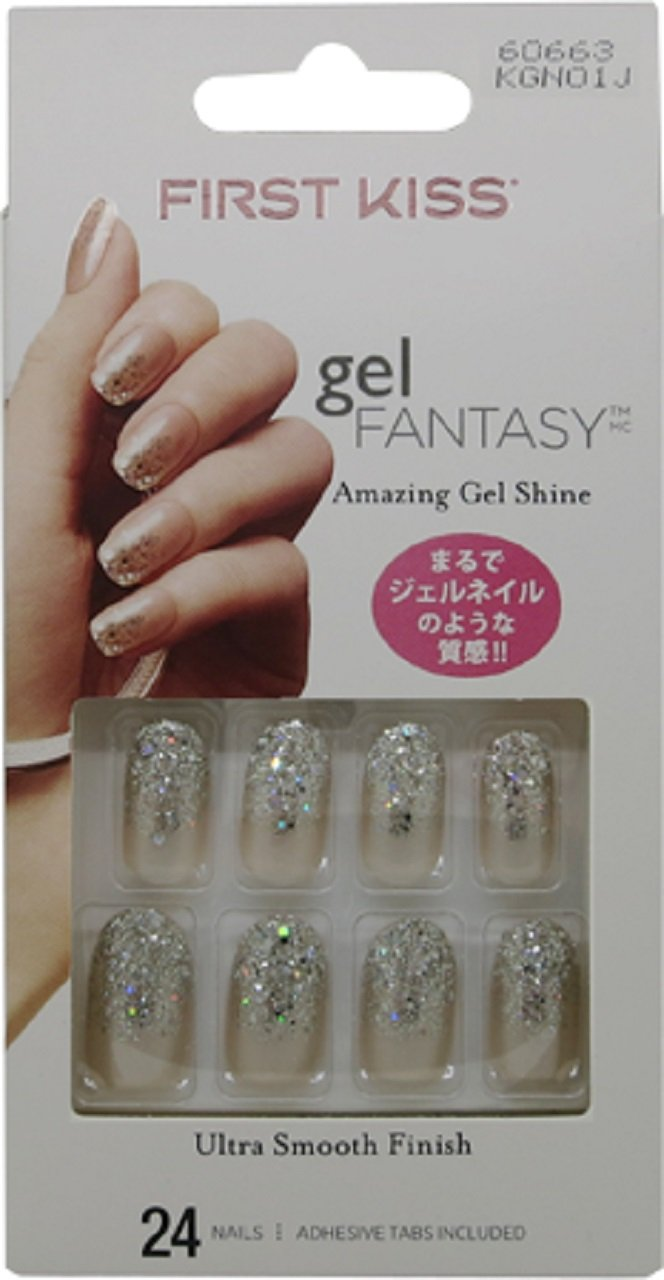 Kiss Gel Fantasy Nails Fanciful 1er Pack 1 X 24 Stück