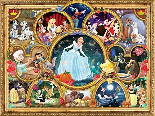 Ceaco Perfect Piece Count Puzzle - The Disney Collection - Disney Classic Collage