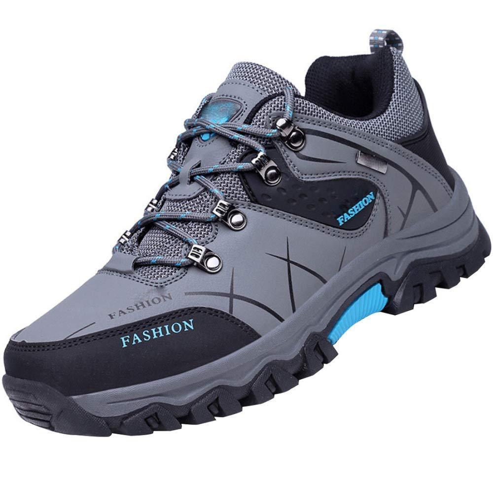FuweiEncore Outdoor Sport Wandern Reisen Schuhe Rutschfeste Tragen Lauf Casual Schuhe (Farbe   Grau, Größe   40EU)