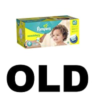 Pampers Swaddlers Diapers Size 6 100 Count (old version) (Packaging May Vary)